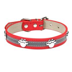 esyBe Hunde-Halsband Hundehalsband, Hunde Halsband für Kleine Hunde, Verstellbare und Reflektierend, DOG02-113, Briet 2.5CM, Halsumfang35~46cm