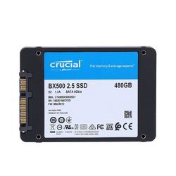Crucial BX500 SSD 480GB 2,5 Zoll int. Festplatte SSD-Festplatte