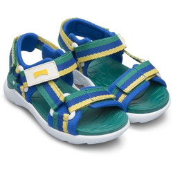 Camper OUSW Sandale mit Streifen blau 27