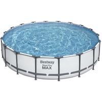 BESTWAY Steel Pro Max Frame Pool Set 549 x 122 cm inkl. Filterpumpe
