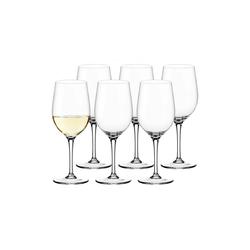 LEONARDO Weißweinglas Leonardo CIAO+ Weißweinglas 300 ml 6-tlg. (6-tlg)