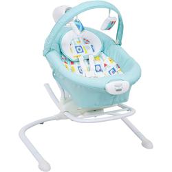 Graco Duet Sway elektrische Babyschaukel mit Wippe Block Alphabet