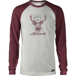 Alprausch - Wanderluscht Snowwhite Cordovan - T-Shirts - Größe: S