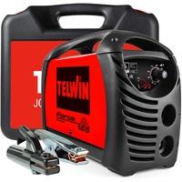 Telwin S.p.A. 815857 Force 165 Inverterschweissgerät für Das Elektrodenschweissen Mit Schweisszubehör und Koffer, 230 V, Rot