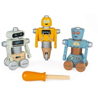 Janod Brico'Kids Schraub-Roboter zum Zusammenbauen