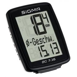 SIGMA Fahrradcomputer Sigma Fahrradcomputer Topline BC 7.16