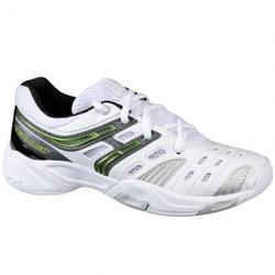 EU 32 / UK 13,5 - Tennisschuhe - Babolat - V-PRO IND KID - weiss grün