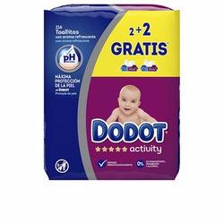 DODOT ACTIVITY toallitas húmedas recambio 216 uds