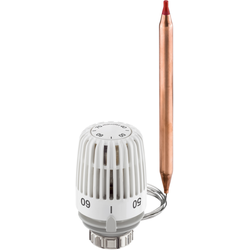 Heimeier Thermostat-Kopf 6662-00.500 60-90 °C, weiß, Kapillarrohrlänge 2 m
