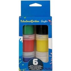 Schulmalfarben VE=6 Farben a 20 ml