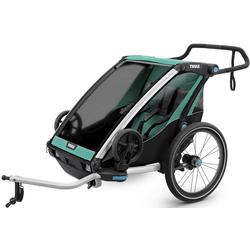 Thule Chariot Lite 2 - Fahrradanhänger Light Blue/Green