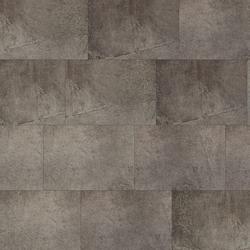 KWG Klick-Vinyl - Antigua Stone Dolomit ash gefast - Vinylboden mit Korktrittschalldämmung