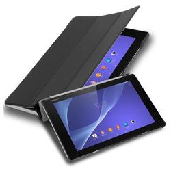 "Cadorabo Tablet-Hülle mit Auto Wake Up und Standfunktion aus Kunstleder, Sony Xperia Tablet Z2 (10.1"" Zoll) SGP521, Cadorabo Hülle für Sony Xperia Tablet Z2 (10.1"" Zoll) SGP521 Book Tablet mit Auto in schwarz schwarz"