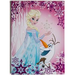 Disney Leinwandbild Frozen Elsa & Olaf, (1 Stück)