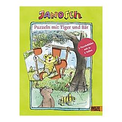 Puzzeln mit Tiger und Bär. Janosch  - Buch