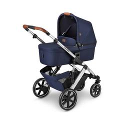 ABC Design Kombi-Kinderwagen Kombi Kinderwagen Salsa 4, gravel blau
