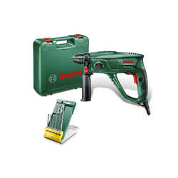 BOSCH Bohrhammer PBH 2100 RE, 230 V, max. 2300 U/min, inkl. 6-tlg. Bohrer-Set
