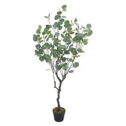 Kunstpflanze Eukalyptusbaum Eukalyptus Kunstbaum Künstliche Pflanze 120 cm Decovego, Decovego
