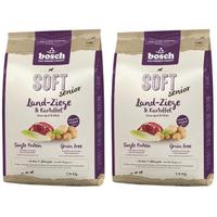 Bosch Tiernahrung Soft Senior Land-Ziege & Kartoffel 2 x 12,5 kg