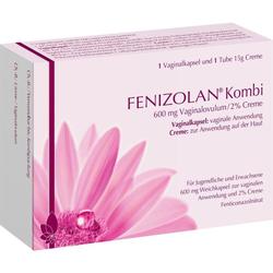 Fenizolan Kombi 600mg Vaginalovulum/2% Creme