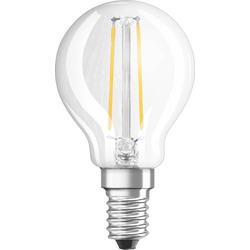 OSRAM LED EEK A+ (A++ - E) E14 Tropfenform 3.30W = 25W Warmweiß (Ø x L) 45mm x 45mm 1St.