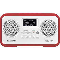 Sangean TRAVELLER 770 Tischradio DAB+, DAB, UKW DAB+, UKW Tastensperre Rot