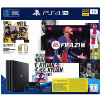 Sony PS4 Pro 1TB schwarz + FIFA 21 (Bundle)