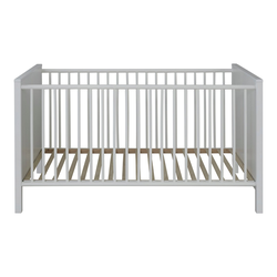 ebuy24 Kinderbett Ory Kinderbett 70x140 cm, weiss.