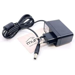 Ladegerät passend für AVM Fritz!Fon C5, M2, MT-F Ladeschale, Ladestation, Dock Ladekabel Kabel Fritzfon Netzladegerät OTB mit mungoo Displayputztuch