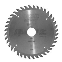 DeWalt Kreissägeblatt (1-St), Kreissägeblatt Ø 190mm 40 Zähne Sägeblatt Handkreissäge Holz Säge Blatt