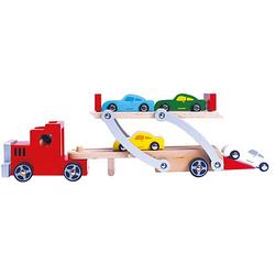 Holz-Autotransporter, 9 Teile
