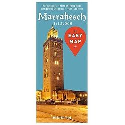 EASY MAP Marrakesch 1:15.000 - Buch