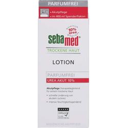 SEBAMED Trockene Haut parfümfrei Lotion Urea 5% 400 ml