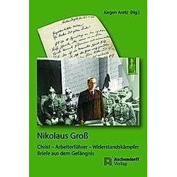 Nikolaus Groß. Nikolaus Groß  - Buch