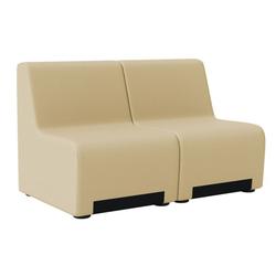 Zweisitzer-sessel rubico, beige