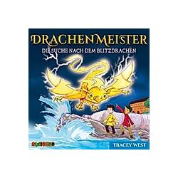 Drachenmeister - Die Suche nach dem Blitzdrachen  1 Audio-CD - Hörbuch