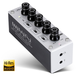 InLine® AmpEQ mobile, Hi-Res AUDIO Kopfhörer-Verstärker und Equalizer, 3,5mm ...