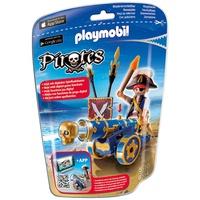 Playmobil Pirates Blaue App-Kanone mit Piraten-Offizier (6164)