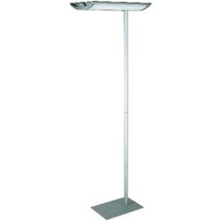 Maul Naos Deckenfluter Energiesparlampe 2G11 110W Silber