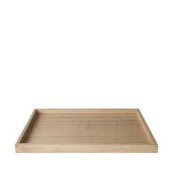 BLOMUS Tablett BORDA 30 cm, Eichenholz