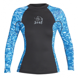 Xcel Women's - 6 OZ UV L/S TOP - Lycra - Damen - Water - Gr. 2XL