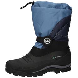 78017-069 Stiefel Spirale Sascha blau gefüttert 33