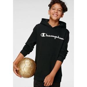 Champion Kapuzensweatshirt HOODED SWEATSHIRT schwarz S (128/134)