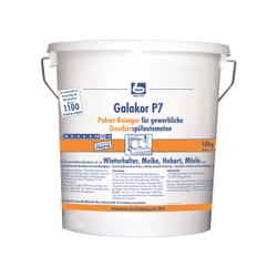 Dr. Becher Galakor P7 Pulverreiniger für Geschirrspüler, Für gewerbliche Geschirrspülautomaten, 10 kg - Eimer