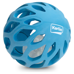 Karlie Gitterball mit TPR LED Leuchtkugel blau