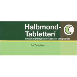 HALBMOND Tabletten 20 St