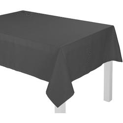 Tischdecke, Uni Collection, Adam schwarz Tischdecken Tischwäsche