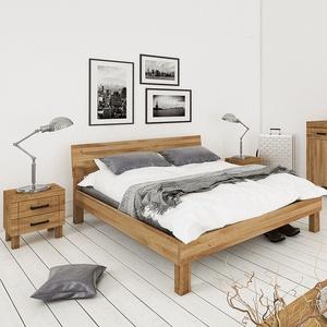 "Jugendbett ""Nevo"" - Größe: 120x200 cm - Holzart: Buche"