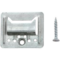 RAMSES Profilholzkralle, extra stark inkl. Schrauben 4 mm Stahl verzinkt 100 Stück