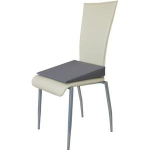 Orthopädisches Keilkissen Sitzkeilkissen Sitzkissen Sitzhilfe Kissen, Grau